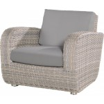 4 Seasons Outdoor Barbados lounge stoel met 2 kussens - Lagun