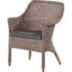 4 Seasons Outdoor Galleria stoel met kussen - Pure