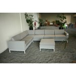 4 Seasons Outdoor Cayman loungeset - grey - SHOWROOM MODEL