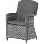 4 Seasons Outdoor Eldorado stoel met 2 kussens - Duet Charcoal